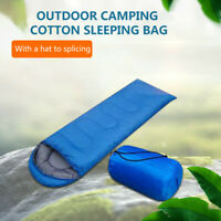 Outdoor Envelope Sleeping Bag Lightweight 4 Season Waterproof for Camping Hiking
