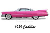 1963 Cadillac  Auto Refrigerator Magnet