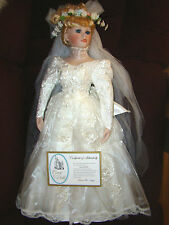 """Court of Dolls """"Annie the Bride Doll """" LARGE 28"""" Design by Jenny Number 785 NIB"""
