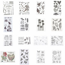 Silicone Rubber Clear Stamp Seal Scrapbooking Cling Diary Christmas Card DIY