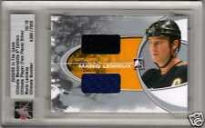 MARIO LEMIEUX 08/09 ITG Ultimate Dual All-Star + Penguins Jersey /24 SP