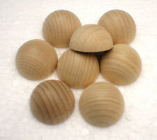Halbkugeln Ø 15 mm Holzhalbkugeln Buche natur