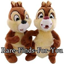 "Disney Theme Parks Exclusive ""Chip Dale"" Plush Doll Toy Set 9"" H (New With Tags)"