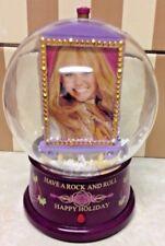 CHRISTMAS Snow Globe Light Up Collectible 2008 Hannah Montana w/Music 7 1/2''