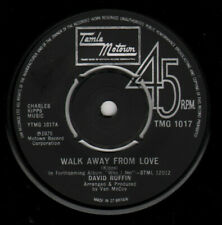 "David Ruffin ‎– Walk Away From Love Vinyl 7"" Northern Soul Single TMG 1017 1975"