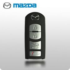 New 2010-2014 OEM Mazda CX7 CX9 4 Or 3 Buttons Smart Key Includes Emergency Key