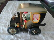 Vintage Steinbach Germany Music Box Car Bank with box Thorens Movement Antique