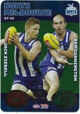 2018 team coach north Melbourne battle teams card  bt-35