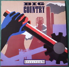"Big Country    ""  Steeltown  ""  33T   LP  1985   NM / NM"