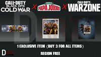 CoD Call of Duty Black Ops Cold War Papa Johns (1 Item)