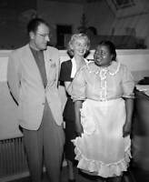 OLD CBS RADIO PHOTO The Beulah Show A Cbs Radio Comedy Hattie McDaniel 1