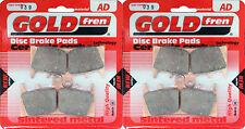 Suzuki GSXR 1300 Front Sintered Brake Pads 1999-2007 - Goldfren - GSX-R GSXR1300
