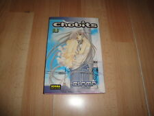 CHOBITS CREADO POR CLAMP COMIC MANGA NUMERO 1 DE NORMA EDITORIAL AÑO 2005 USADO