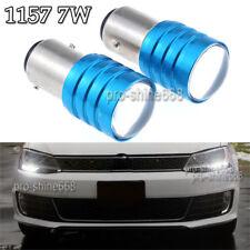 2pcs 1157 1016 BA15D White 6000K 7W LED Fog DRL Daytime Driving Light Lamp Bulbs
