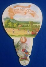 1992 INDUCTIONS NATIONAL BASEBALL HALL OF FAME LEAF HAND FAN!