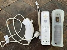 Official Nintendo Wii Controller (Wiimote), Nunchuck, & Sleeve - ALL OEM Tested!