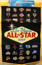 NBA 24x37' 2007 Las Vegas All Star Dynasty Banner