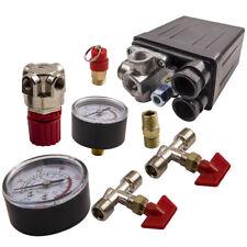 125psi Pressure Switch Air Valve Manifold Compressor Control Regulator Gauge 20a
