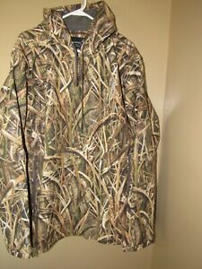 NWT BIG MEN'S 3XL BROWNING SMOOTHBORE WICKED WING HOODIE JACKET (MOSSY OAK GRASS