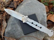 Fox Knives Hector SUF N690Co Stonewash Spear Point 420J2B Handle Scale Framelock