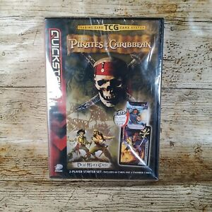 TGC PIRATES OF THE CARIBBEAN - TRADING CARD GAME 2 PLAYER STARTER Set - NEW