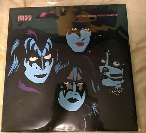 KISS - Kruise VI Red Vinyl 2500 Only Signed by all 4 Members