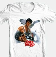 Over The Top T-shirt retro 80s classic movie cotton graphic tee Free Shipping