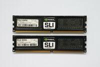 4GB (2x2GB) OCZ SLI-Ready Edition DDR2 Memory 800MHz CL5 PC2-6400 OCZ2N800SR4GK