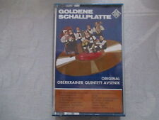 Original Oberkrainer Quintett Avsenik - Goldene Schallplatte - MC Musikkassette
