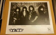 Y&T  1980's Greffen records, record label promo pictures, VERY RARE!!