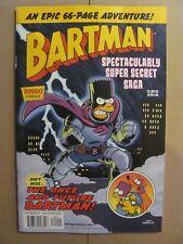 Bartman Spectacularly Super Secret Saga #1 Bongo 2018 One Shot 9.6 Near Mint+