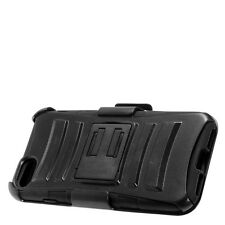 """For Apple iphone 7&8 4.7"""" Rugged Hard Case Cover + Holster w Belt Clip Stand"""