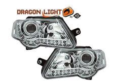 VW Passat 3C2, 3C5 Bj05-10 Set Scheinwerfer DRAGON-LIGHTS +LED Standlichtleiste
