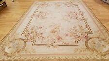6 x 9 Hand woven French Artdeco Needle point 100% wool Area rug