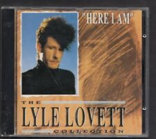 LYLE LOVETT Here I Am The Collection 1991 CD GERMANY EDEL MINT FREEPOST