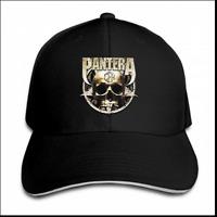 Pantera Cowboys from Hell Skull Sticker Men Adjustable Baseball Snapback Cap Hat