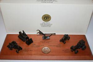 John Deere Desk Plaque-150th Anniversary-Limited Edition Collector Set-1987 ERTL