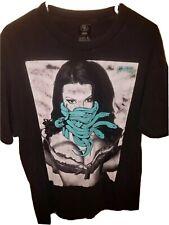 Crooks & Castles Sexy Snake Graphic Black Tee T-shirt Men's L Large. BT40