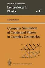 Computer Simulation of Condensed Phases in Complex Geometries (Lecture Notes in