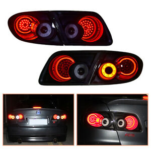 For Mazda 6 Atenza 2003-2008 Dark LED Tail Lights Replace OEM Rear Lamps
