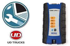 2011-2013 UD Truck PTT Premium Tech Tool Diagnostic DVD & Nexiq USBLink 2 OBD-II