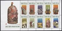 RSA1022) RSA 1998 Early South African History, block of 10, MUH