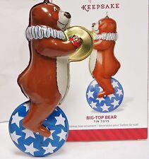 HALLMARK 2014 Big Top Bear 1st in the Tin Toys Series NEW in Box