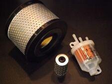 Luftfilter Kraftstofffilter passend für Hatz 1B20 1B30 Ammann Bomag 3 Anschlüsse