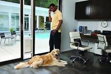 Sliding Gl Pet Door Aluminum Patio Flap Panel Dog Cat Freedom Large White