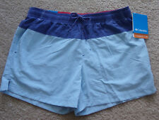 NEW!!  Women's Shorts Columbia Blue On Blue Size Small  NWT $45  Over 50% Off!