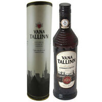 Rum Likör Vana Tallinn mit Geschenkbox 0,5L 40% Vol. Estland Spirituose Liqueur