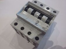 SIEMENS 5 SX1 C 20 20 A MAGNETOTERMICO CIRCUIT BREAKER 4 POLOS