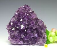 Spectacular Amethyst Quartz Crystal Cluster - Natural Raw Mineral Healing 1954g