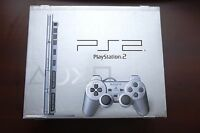 Playstation 2 Slim console silver SCPH-70000 boxed Japan PS2 System US Seller